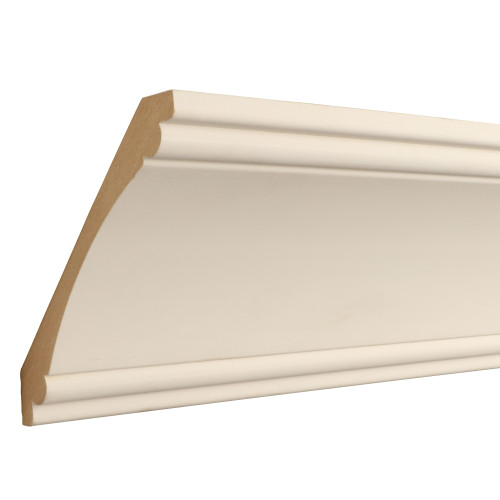 "525 Primed MDF Crown - 11/16"" x 5-1/4"""
