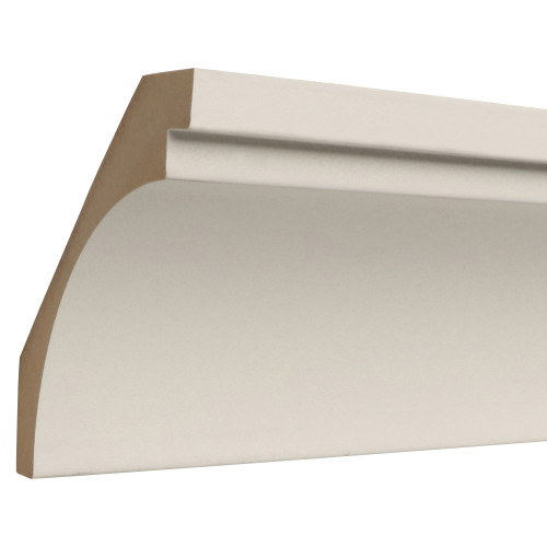 530 Primed MDF Crown - 1-3/16 x 5-1/2""