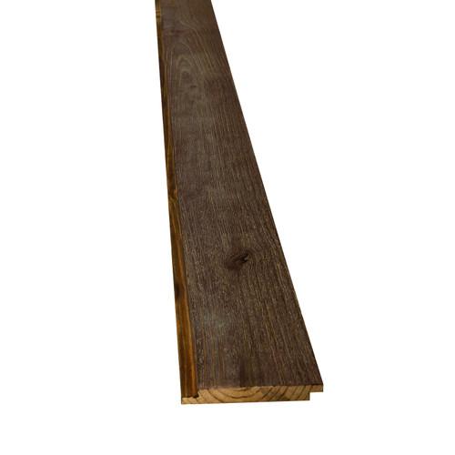 """6WOOD Prefinished Woodshed Shiplap - 11/16"""" x 5-3/8"""""""