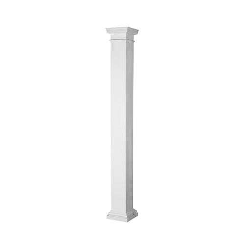 "72415 - 10"" x 8' - Poly Classic Non-Tapered Square Column"
