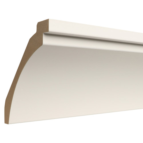 "730 Primed MDF Crown - 1-3/16"" x 7"""