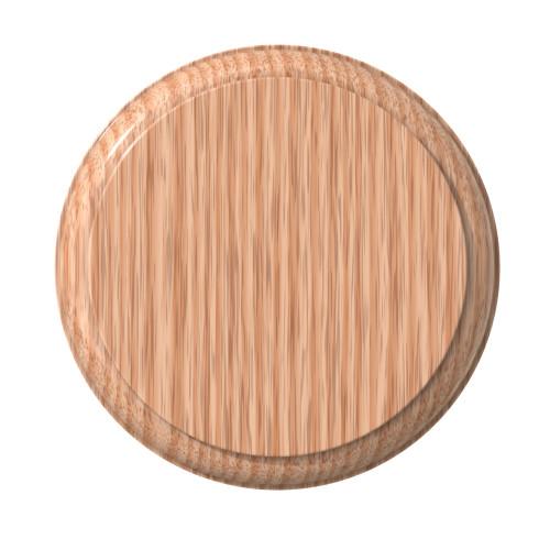7427 - Bulk Oak Oval Rosette