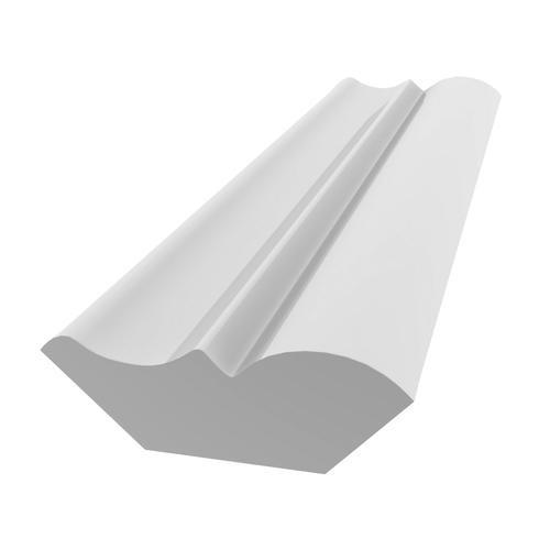 """75 PVC Bed Mould - 9/16"""" x 1-5/8"""""""