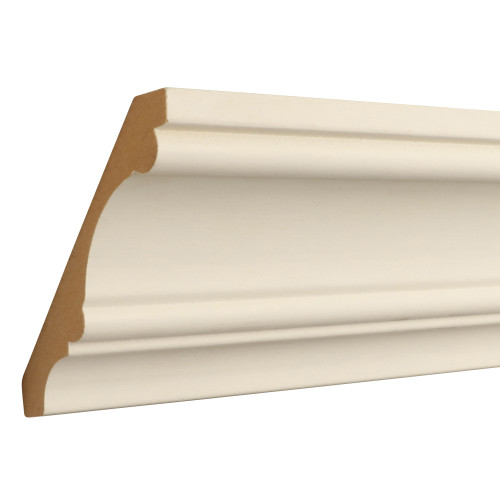 "824 Primed MDF Crown - 11/16"" x 4-1/4"""