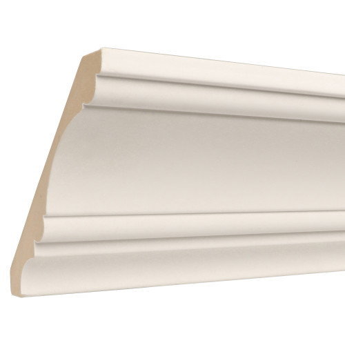 "825 Primed MDF Crown - 11/16"" x 5-1/4"""