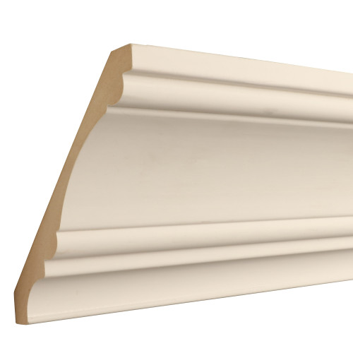 "826 Primed MDF Crown - 3/4"" x 6"""