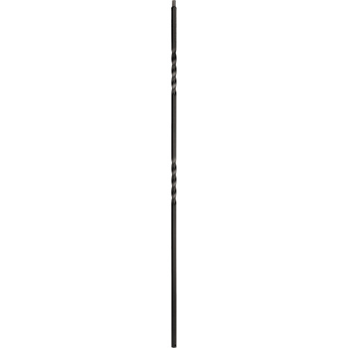 "1/2"" Double Twist - Iron Baluster"