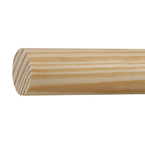 "L233 Southern Yellow Pine Closet Pole - 1-1/4"" x 1-1/4"""