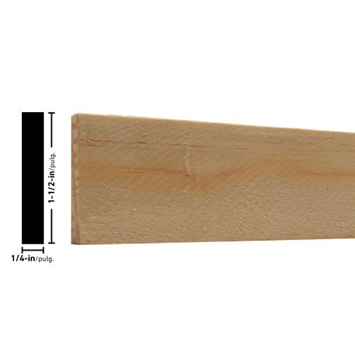 """L266 Pine Lattice - 1/4"""" x 1-1/2"""""""