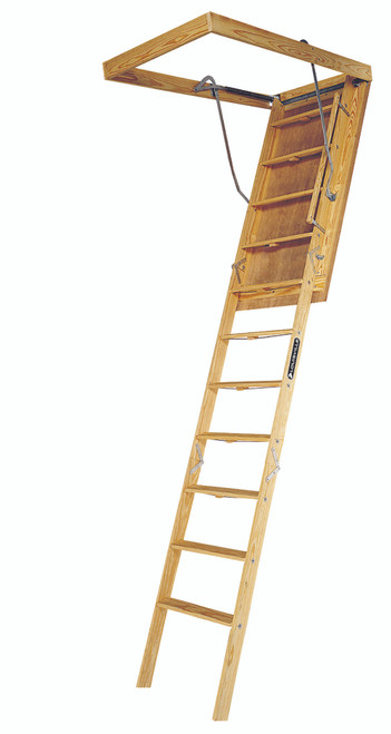 "AG100FTS - Attic Ladder - 30"" x 54"" x 10'"