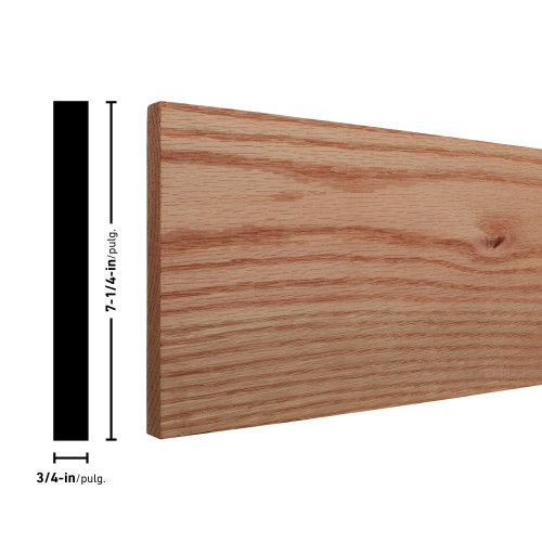 "M1X8 Oak Board Mini Pack - 3/4"" x 7-1/4"""