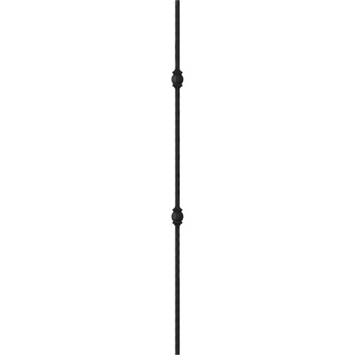 "1/2"" Mediterranean Double Ball - Iron Baluster"