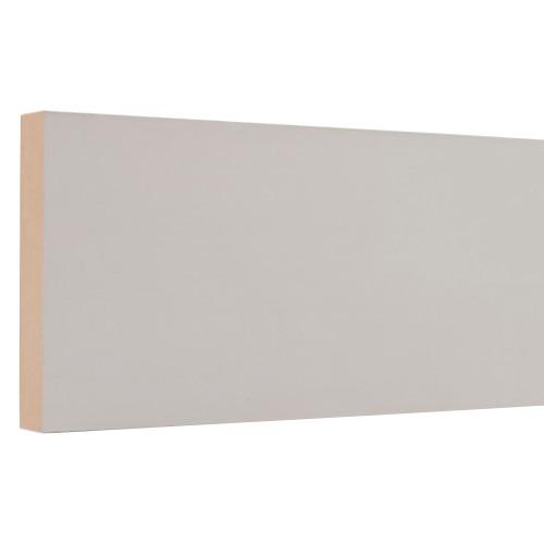 "N14 Primed MDF Board (No Label) - 11/16"" x 3-1/2"""