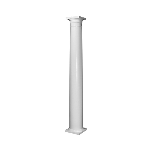 "P1088 - 8"" x 8' - Primed Wood Column"