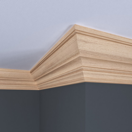 "A1712 White Hardwood Crown 1/2"" x 4-1/2"""