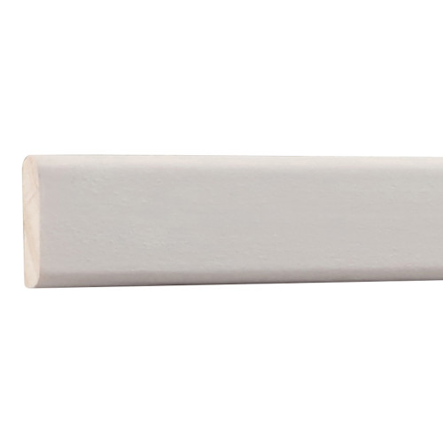 "142 Primed Finger Joint Pine Screen Moulding 1/4"" x 3/4"""