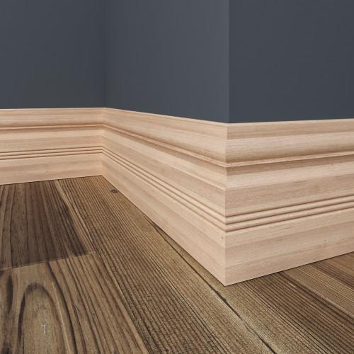 """30B White Hardwood Baseboard 15/32"""" x 5-1/2"""""""