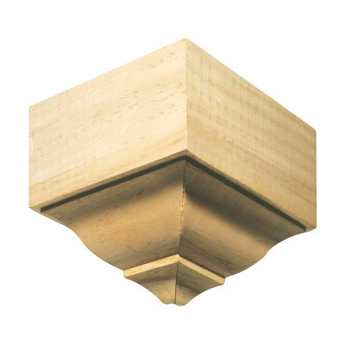 """1897 White Hardwood Moulding Blocks 2-3/8"""" x 2-1/64"""""""