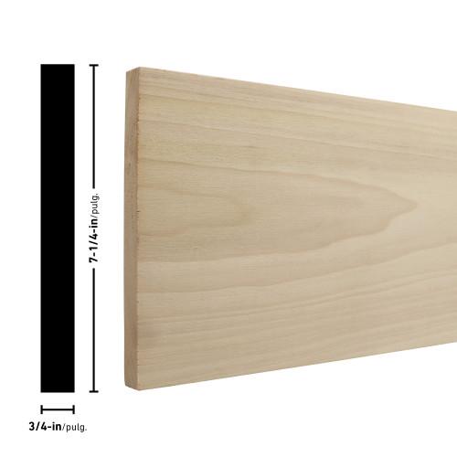 """P1X8 Poplar Board 3/4"""" x 7-1/4"""""""