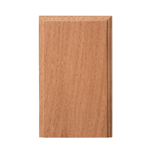 "1401 Oak Plinth Block 4-1/2"" x 2-3/4"""
