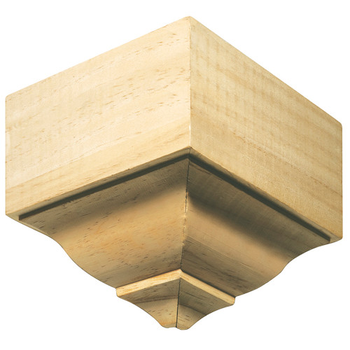 "1899 White Hardwood Moulding Block 4-3/16"" x 11/16"""