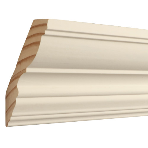 "C712 Primed Finger Joint Pine Crown 7/8"" x 4-1/2"""