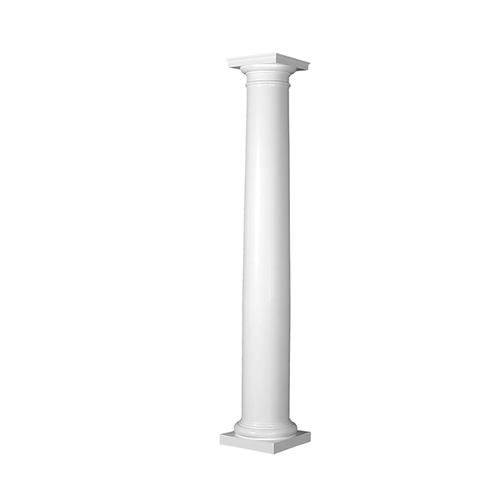 "25075 Turncraft Poly FRP 8"" Tapered Round Column"