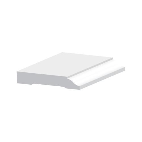 """7527 PVC Baseboard 9/16"""" x 3-1/4"""""""