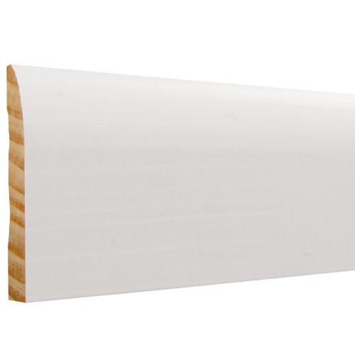 "713 Primed Finger Joint Pine Baseboard 9/16"" x 3-1/4"""