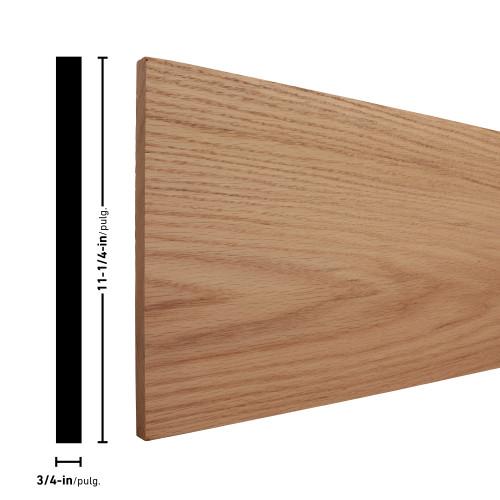 "R1X12 Oak Board 3/4"" x 11-1/4"""