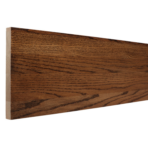 "8075 - 3/4"" x 7-1/2"" Prestained Dark Walnut Oak Riser"