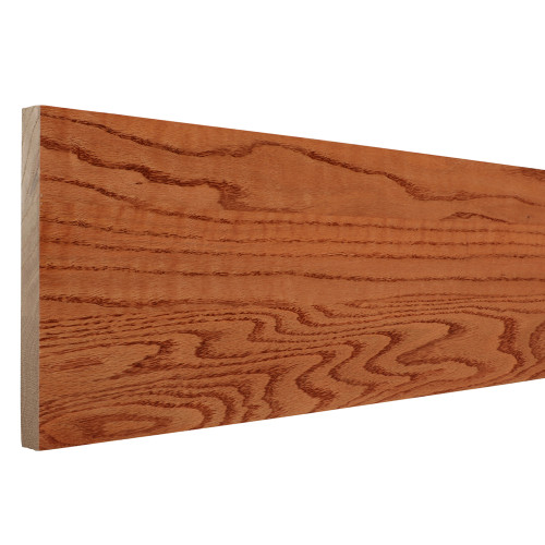 "8075 - 3/4"" x 7-1/2"" Prestained Gunstock Oak Riser"