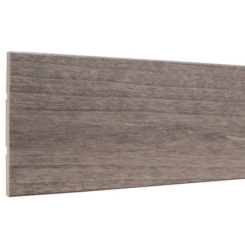 """Stained Gray E2E Board - 7/16"""" x 3-1/2"""""""
