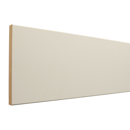 "7E110 Primed MDF E2E Board (17mm) 11/16"" x 9-1/4"" x 16'"