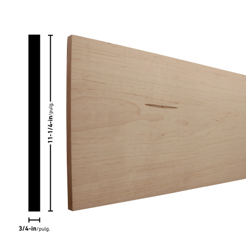 """H1X12 Maple Board - 3/4"""" x 11-1/4"""""""