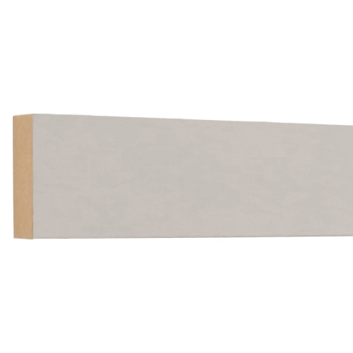 "L12 Primed MDF Board - 11/16"" x 1-1/2"""