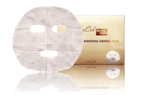 Bio-Gold Crystal Vintage Wine Whitening Firming Mask (5 pcs)