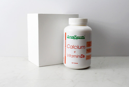 Super Growth Calcium + Vitamin D3