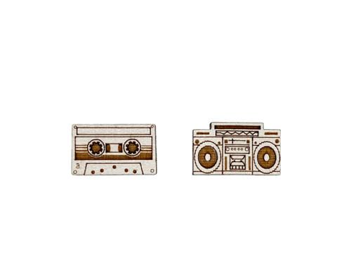 Boombox & Tape