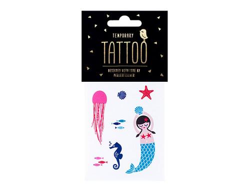 Sea Mermaid Tattoos