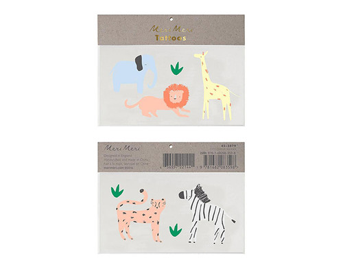 Safari Animal Tattoos