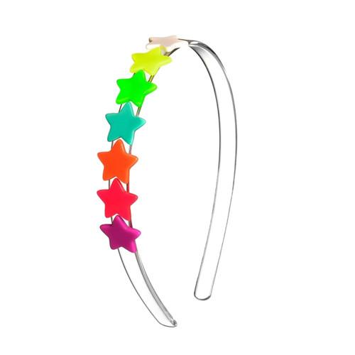 Centipede Neon Star Headband