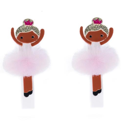 Black, Brown Ballerina