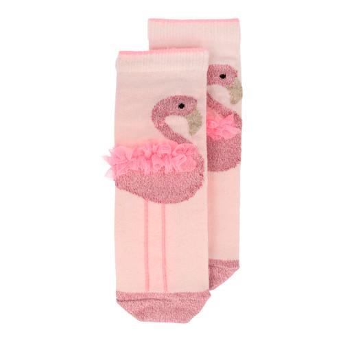 Flamingo Sparkle Socks