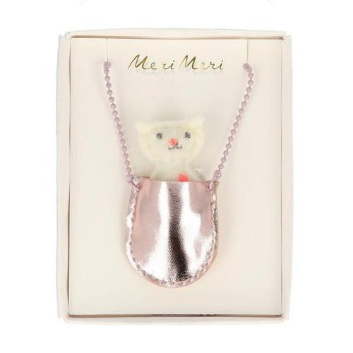 Cat Pocket Necklace