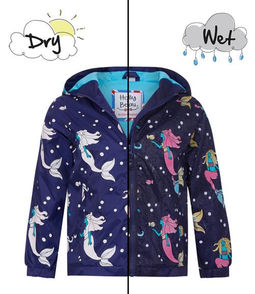 Mermaid Color Changing Raincoat