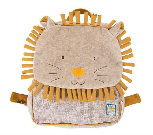Sous Mon Baobab Lion backpack