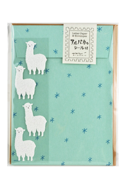 Alpaca Letter Set