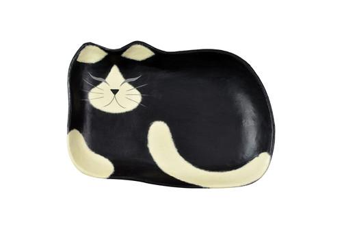 Washi Black Cat Tray