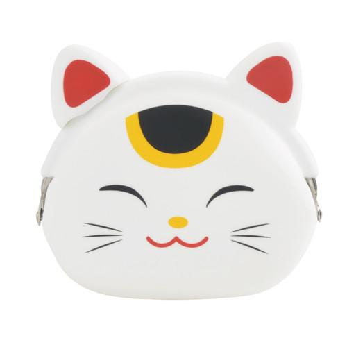 Mimi Pochi Maneki-Neko (Lucky Cat) Pouch